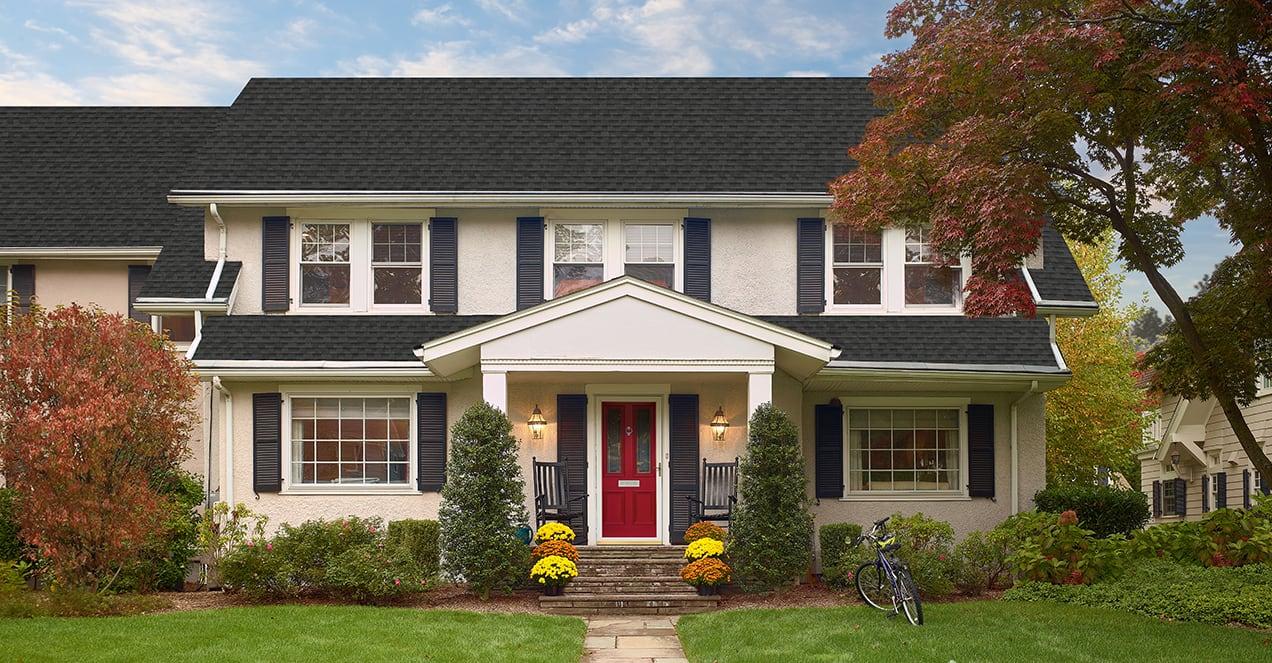 imagen de una casa con tejas Timberline