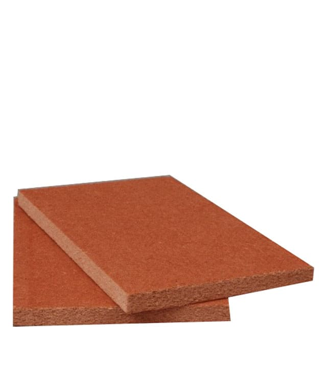 High Density Fiberboard Roof Insulation Cover Board With Primed Red Coating