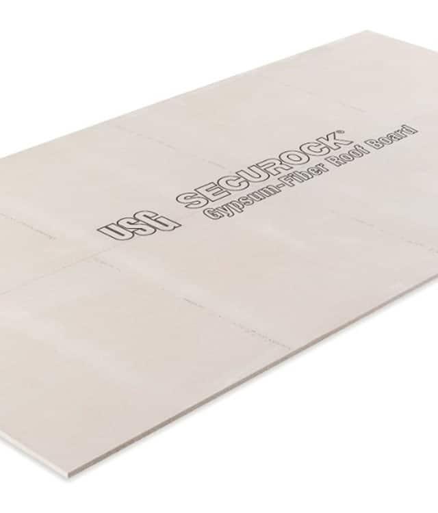 Gaf Usg Securock 174 Brand Gypsum Fiber Roof Board