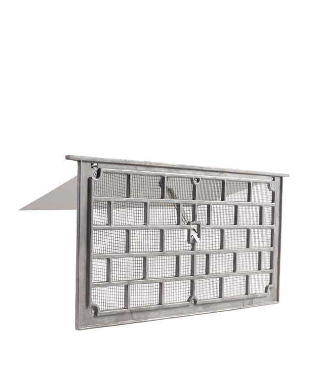 Grill Style Foundation Vent