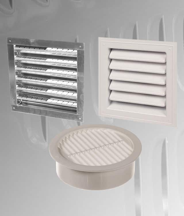Residential Roof Vents : Gaf masterflow gable vents louvers