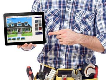 The GAF Virtual Home Remodeler